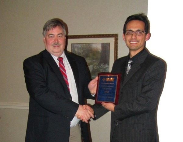 2013 IEEE Huntsville Section Outstanding Engineer Award 600