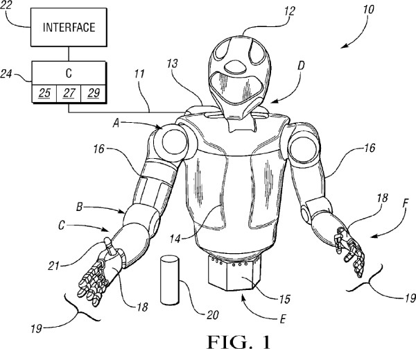 US Patent 8,369,992 - Fig 1