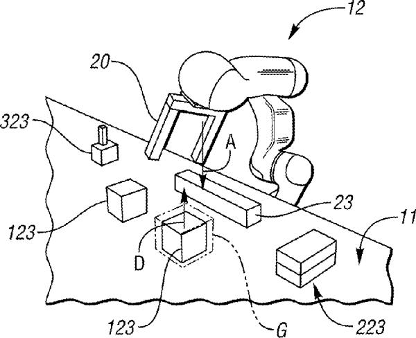 US Patent 9,387,589 2016 Barajas et al., Visual Debugging of Robotic Tasks 600